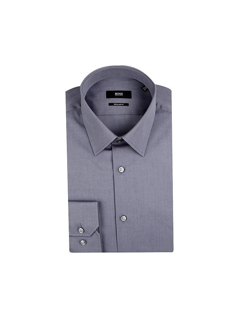 hugo boss hemd regular fit enzo blau 38. Black Bedroom Furniture Sets. Home Design Ideas