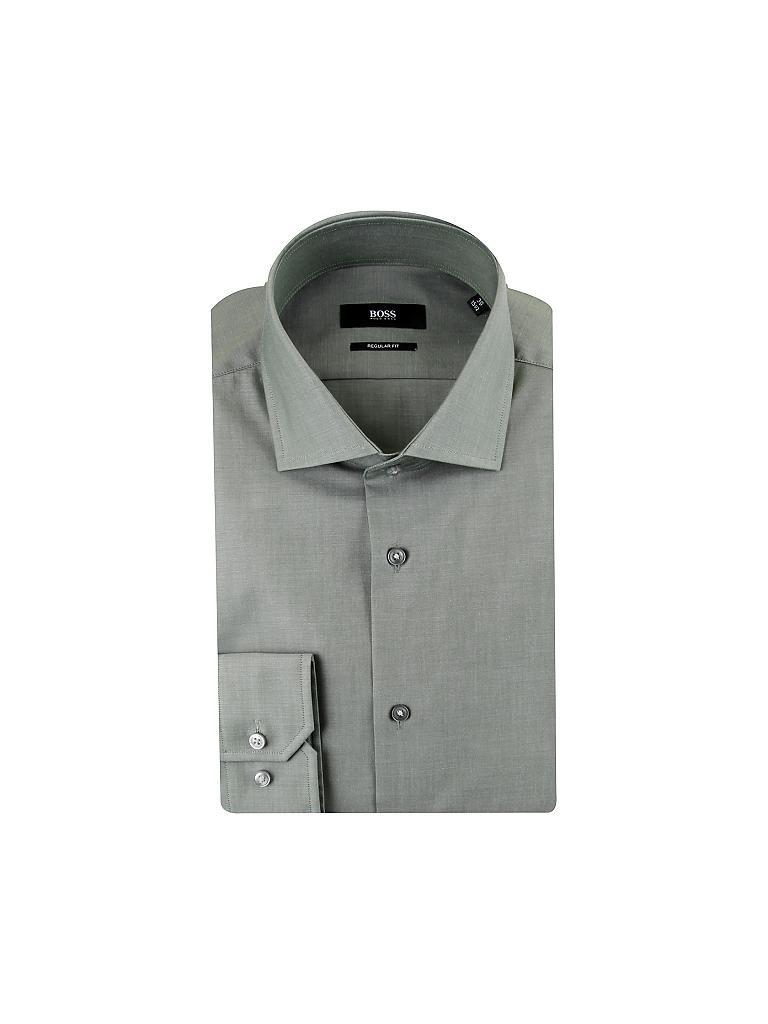 hugo boss hemd regular fit gordon gr n 38. Black Bedroom Furniture Sets. Home Design Ideas
