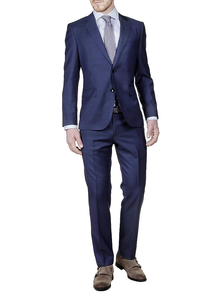 hugo boss hemd regular fit gordon blau 38. Black Bedroom Furniture Sets. Home Design Ideas