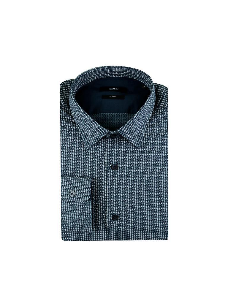 hugo boss hemd slim fit reid grau s. Black Bedroom Furniture Sets. Home Design Ideas