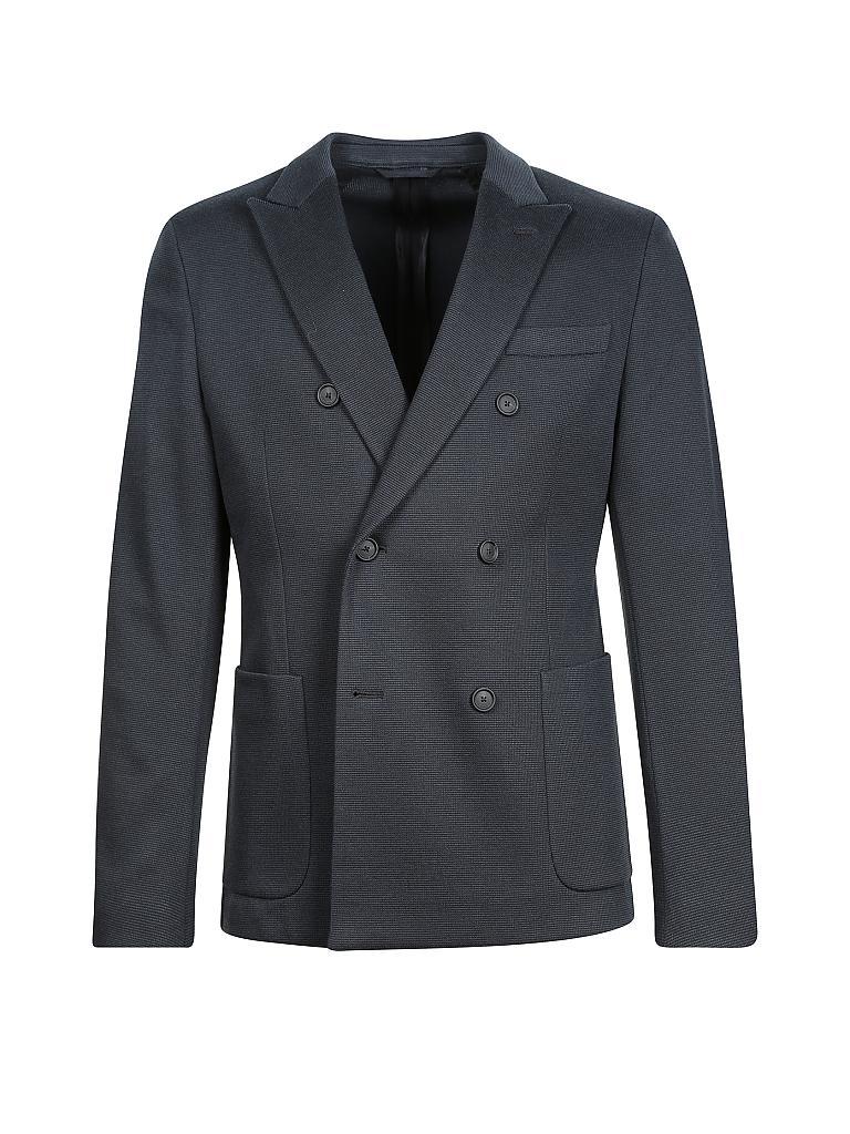 hugo boss jersey sakko blau 48. Black Bedroom Furniture Sets. Home Design Ideas