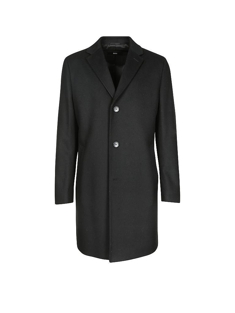 Hugo boss mantel schwarz damen