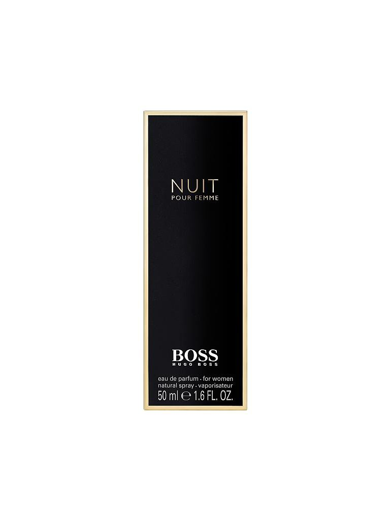 HUGO BOSS | Nuit Pour Femme Eau de Parfum Natural Spray 50ml | transparent
