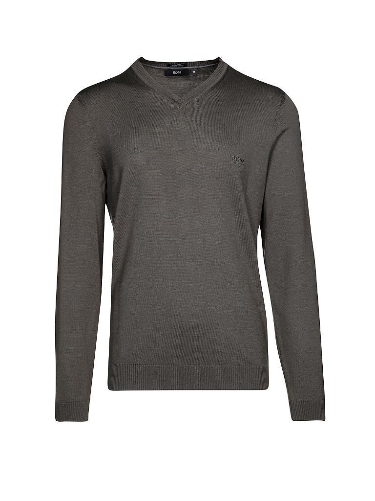 hugo boss pullover regular fit batisse olive s. Black Bedroom Furniture Sets. Home Design Ideas