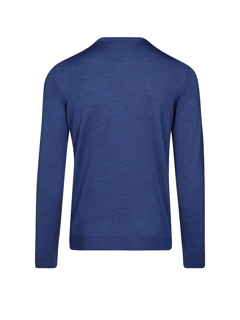 hugo boss pullover slim fit baker b blau s. Black Bedroom Furniture Sets. Home Design Ideas