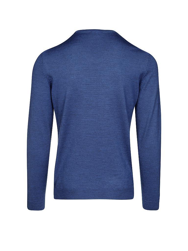 hugo boss pullover slim fit baku blau s. Black Bedroom Furniture Sets. Home Design Ideas
