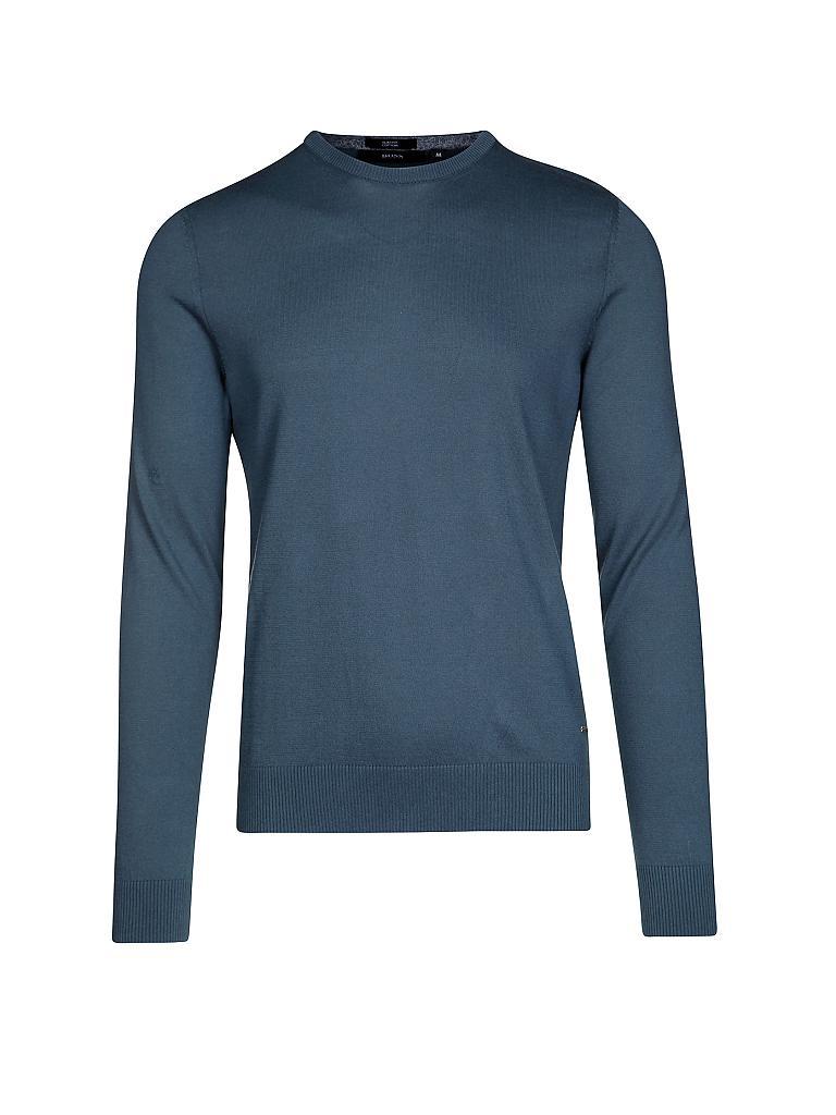 hugo boss pullover slim fit fabello blau s. Black Bedroom Furniture Sets. Home Design Ideas