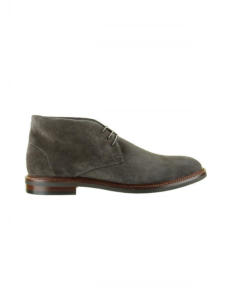 hugo boss schuhe boots grau 8 42. Black Bedroom Furniture Sets. Home Design Ideas
