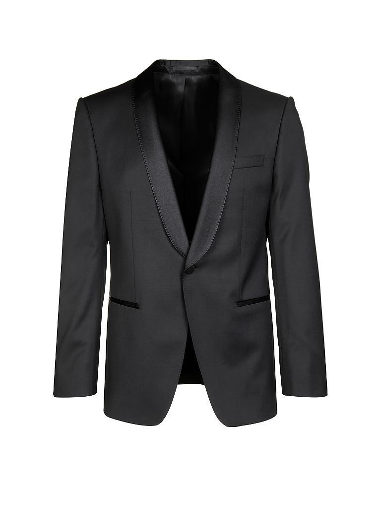 hugo boss smoking anzug hanfrey schwarz 52. Black Bedroom Furniture Sets. Home Design Ideas