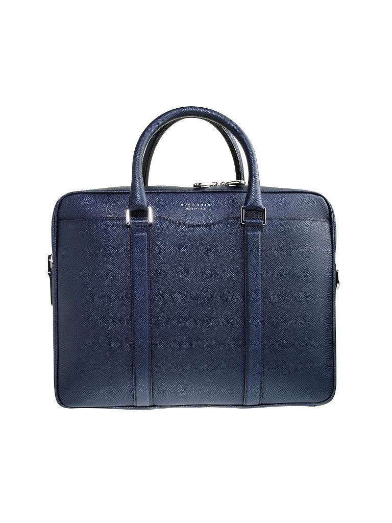 hugo boss tasche workbag blau. Black Bedroom Furniture Sets. Home Design Ideas