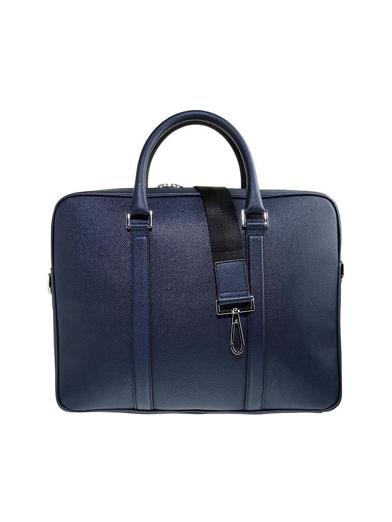 hugo boss tasche workbag blau. Black Bedroom Furniture Sets. Home Design Ideas