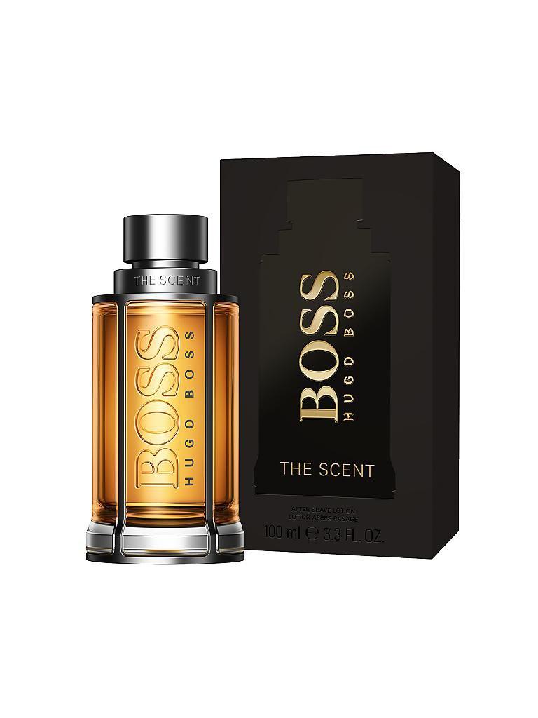 hugo boss the scent after shave lotion 100 ml transparent. Black Bedroom Furniture Sets. Home Design Ideas