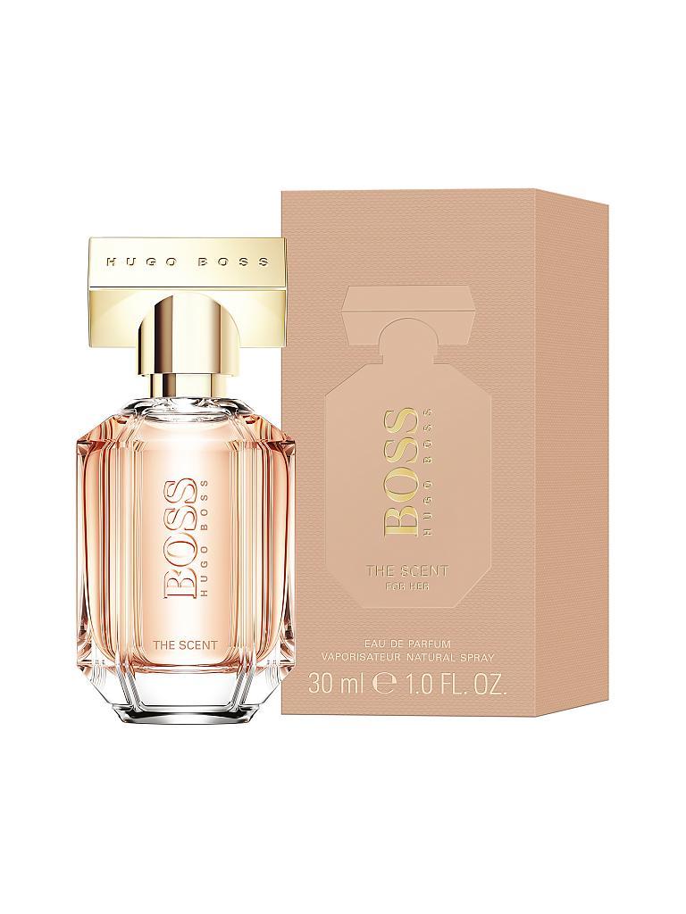hugo boss the scent for her eau de parfum natural spray 30 ml transparent. Black Bedroom Furniture Sets. Home Design Ideas