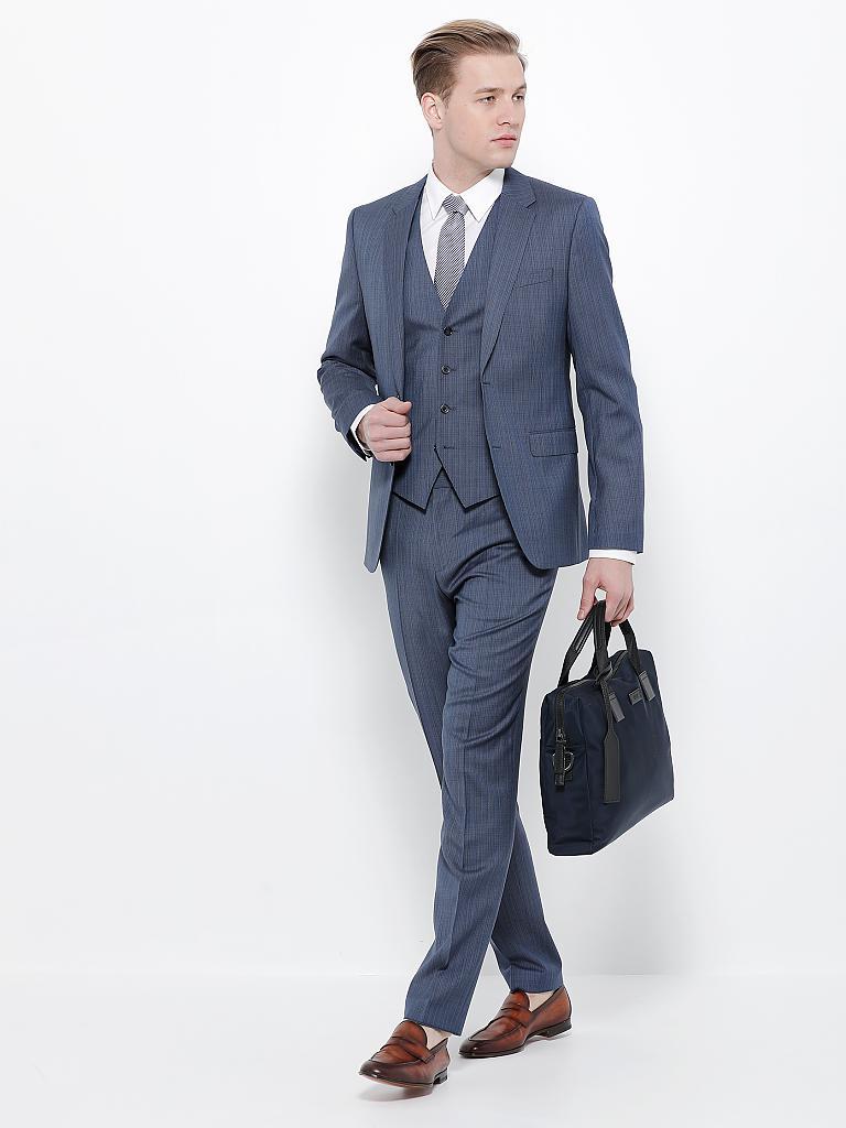 half off a62e9 8a12c Business-Anzug 3-tlg. Slim-Fit