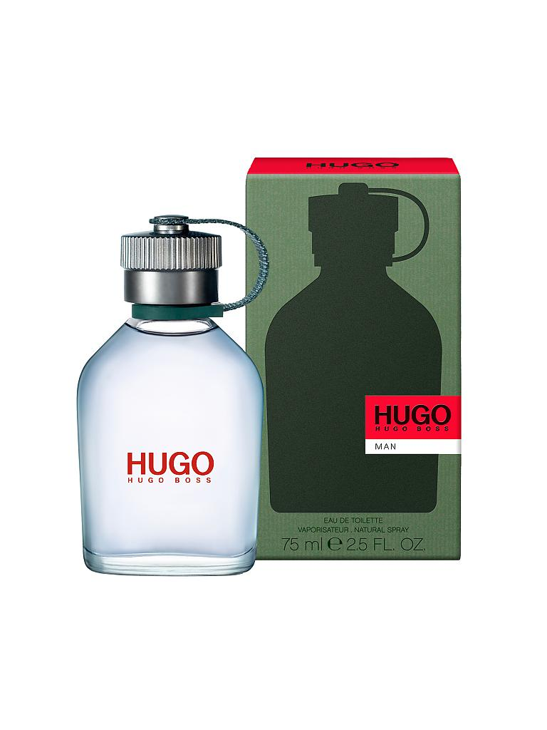 HUGO | Man Eau de Toilette Natural Spray 75ml | transparent