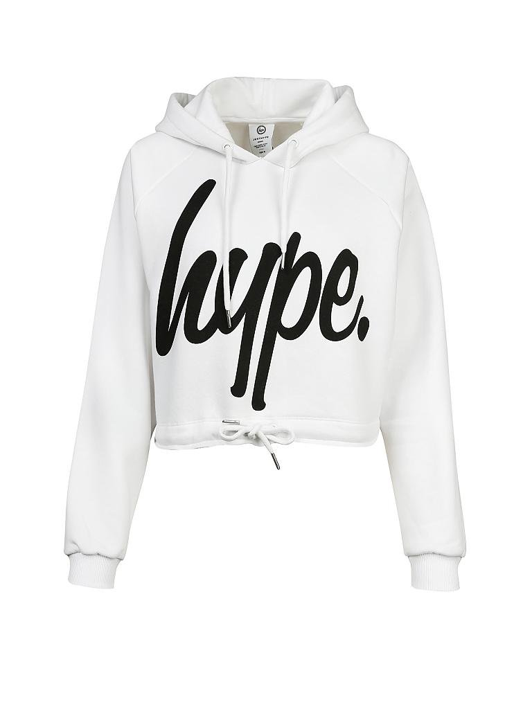 HYPE | Sweater Cropped-Fit | weiß