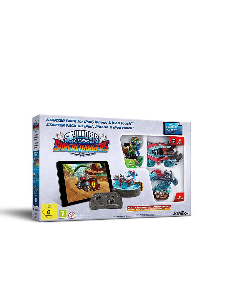 IPAD | Skylanders Superchargers - Starter Pack | transparent
