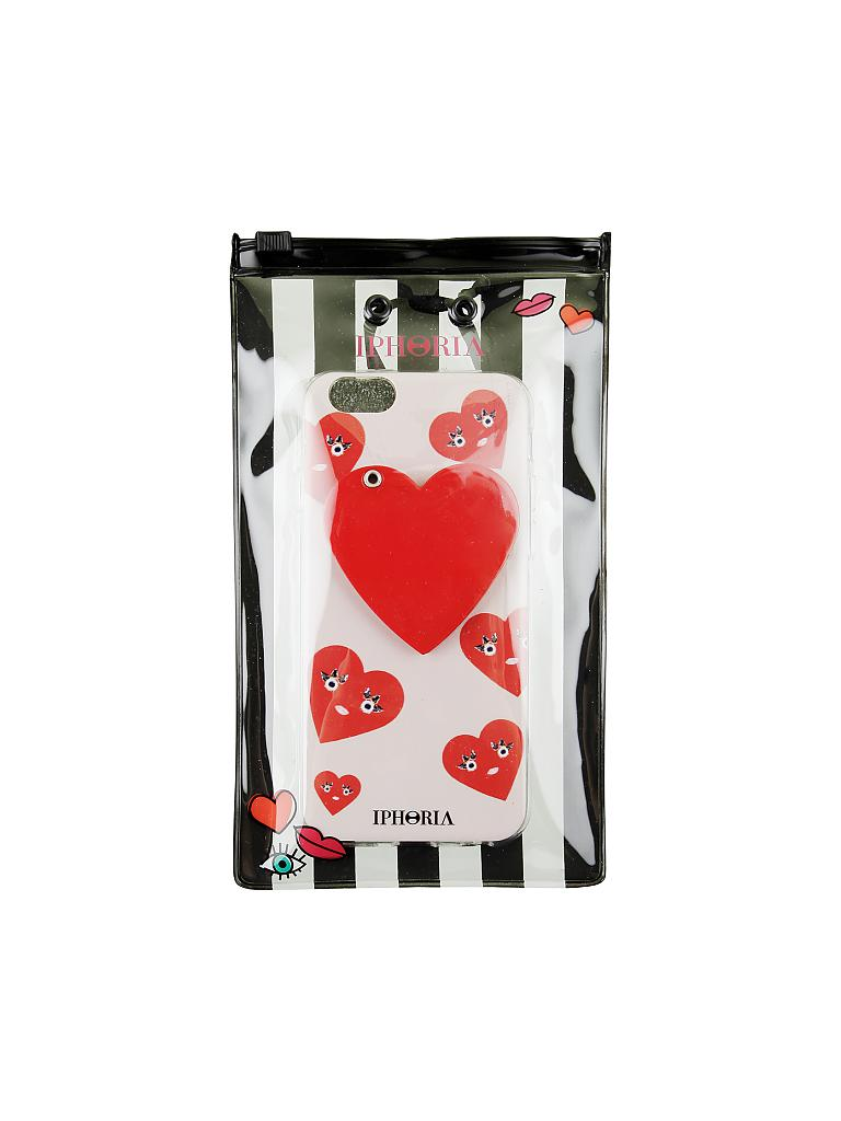 iphoria smartphone case cute hearts f r iphone 6 6s rot. Black Bedroom Furniture Sets. Home Design Ideas