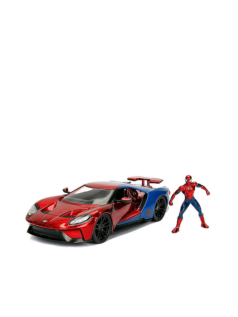 JADA TOYS | Marvel Spiderman 2017 Ford GT 1:24 | transparent