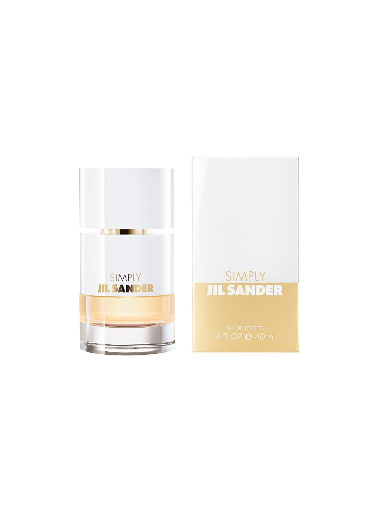 JIL SANDER | Simply Eau de Toilette 40ml  | transparent