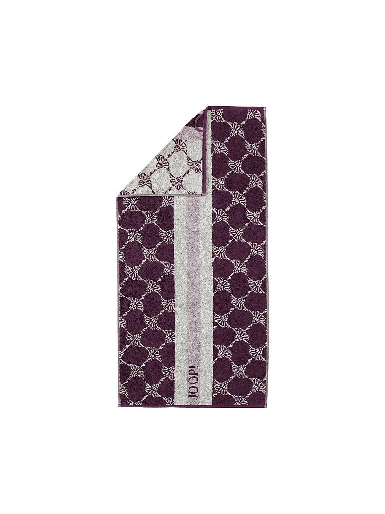 "JOOP | Handtuch ""Statement Divided"" 50x100cm (Plum) 