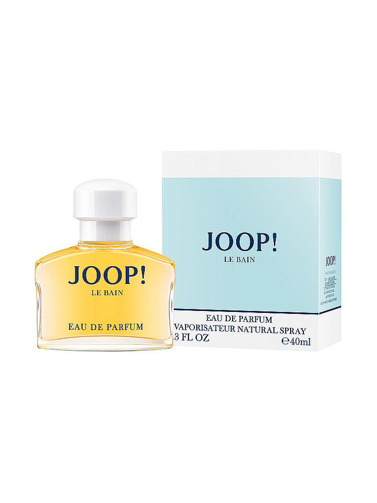 joop le bain eau de parfum 40ml transparent. Black Bedroom Furniture Sets. Home Design Ideas