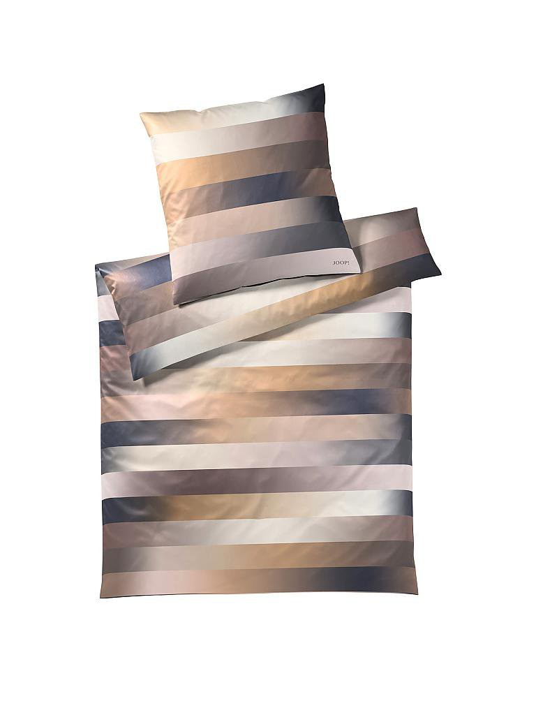 Joop Satin Bettwäsche Flow 70x90cm140x200cm Gold Braun