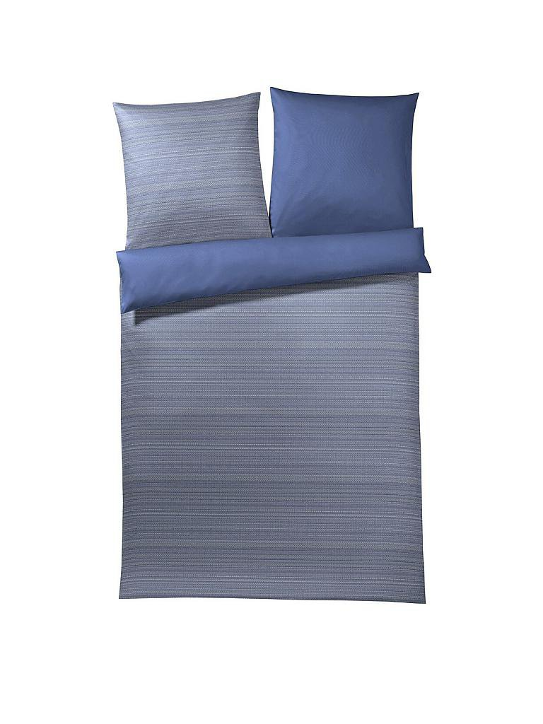 joop satin bettw sche woven 70x90 140x200cm deep blue blau. Black Bedroom Furniture Sets. Home Design Ideas