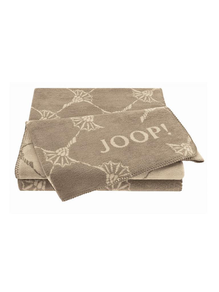 joop wohndecke cornflower 150x200cm palisade linum grau. Black Bedroom Furniture Sets. Home Design Ideas