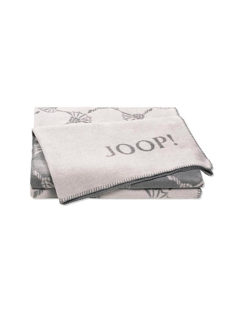 joop wohndecke cornflower 150x200cm grau. Black Bedroom Furniture Sets. Home Design Ideas