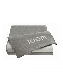 joop wohndecke 150x200cm graphit grau grau. Black Bedroom Furniture Sets. Home Design Ideas