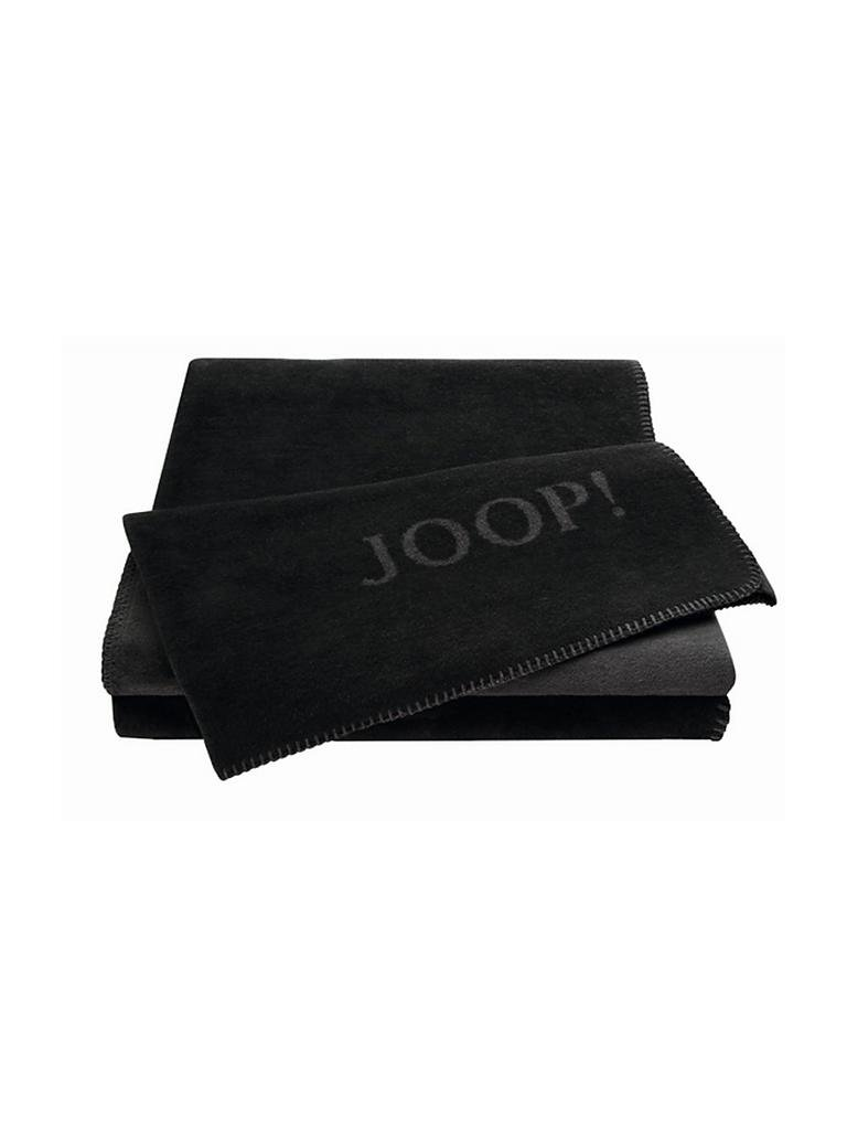 joop wohndecke 150x200cm schwarz anthrazit schwarz. Black Bedroom Furniture Sets. Home Design Ideas