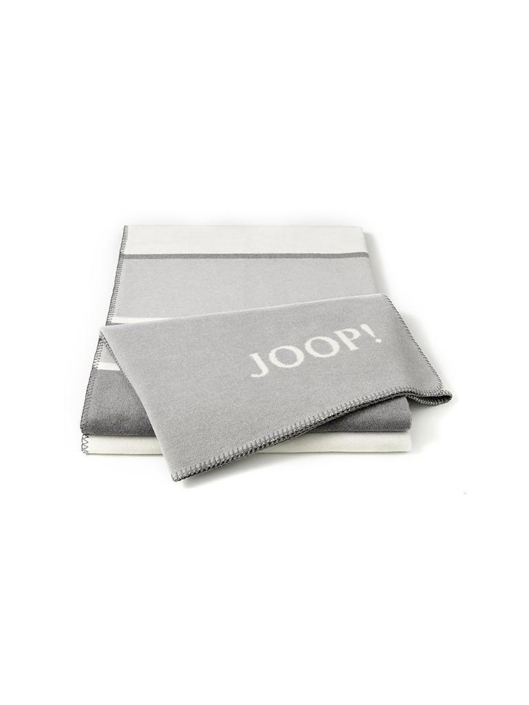 joop wohndecke 150x200cm grau. Black Bedroom Furniture Sets. Home Design Ideas
