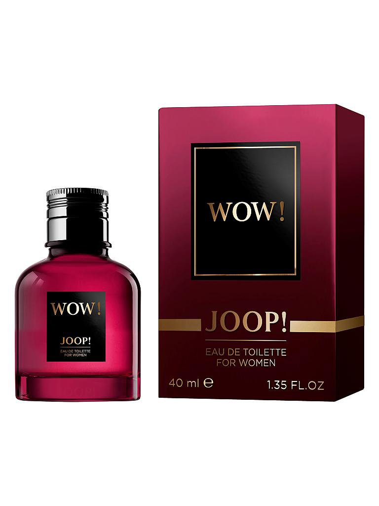 JOOP | Wow! Woman Eau de Toilette Spray 40ml | transparent