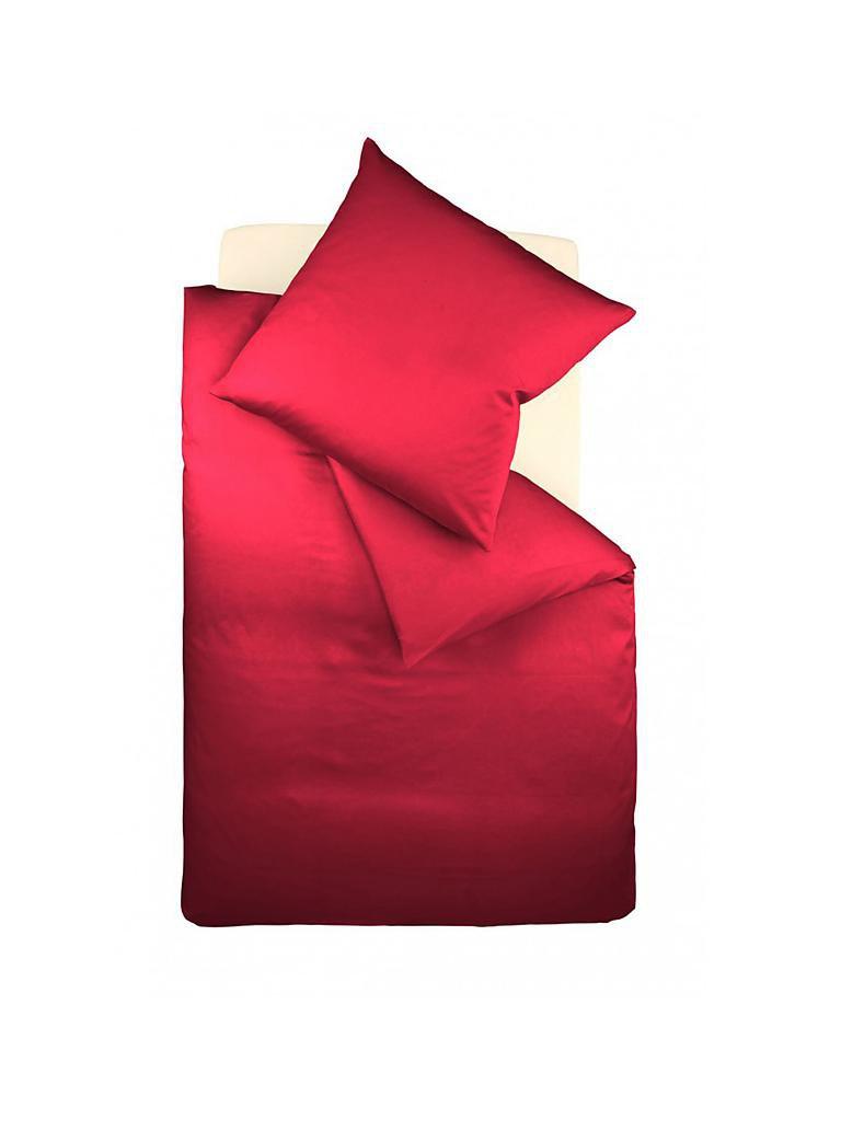 Kö Home Satin Bettwäsche Set 140x200cm 70x90cm Rot