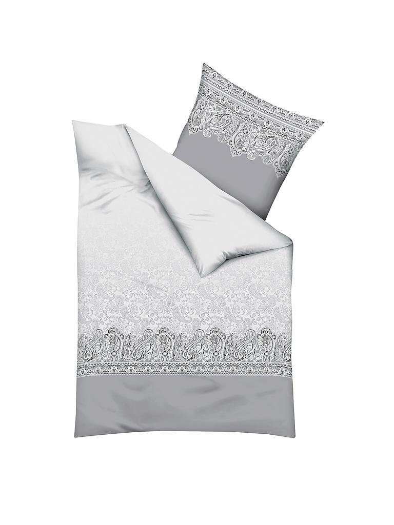 kaeppel flanell bettw sche persis 70x90cm 140x200cm grau. Black Bedroom Furniture Sets. Home Design Ideas