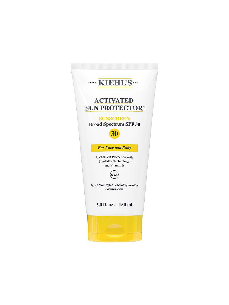 KIEHL'S | Activated Sun Protector Broad Spectrum SPF30 for Face & Body 150ml | transparent