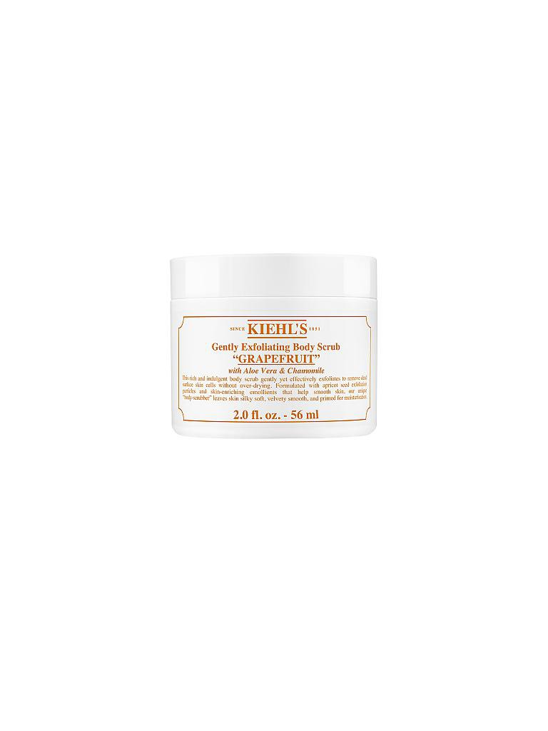 KIEHL'S | Gently Exfoliating Body Scrub Grapefruit Limited Edition 56g | transparent