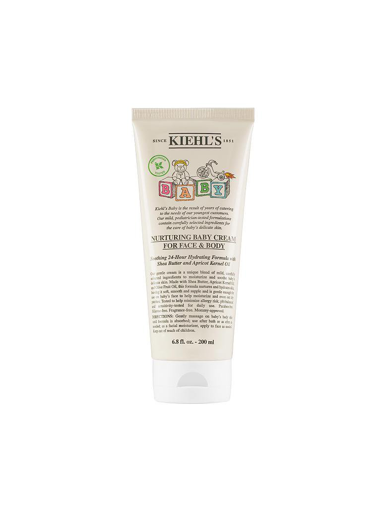 KIEHL'S | Nurturing Baby Cream For Face and Body 200ml | transparent