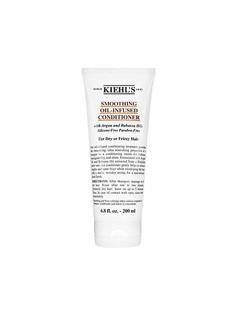 KIEHL'S |  Smoothing Oil-Infused Conditioner 200ml | transparent