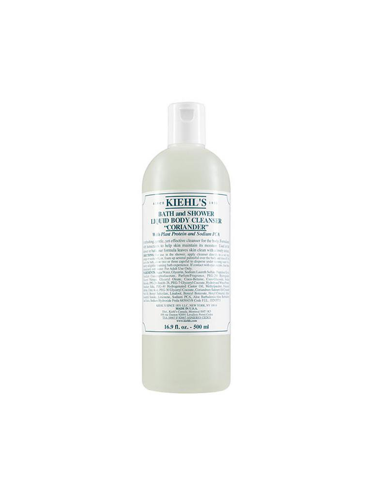 KIEHL'S | Bath and Shower Liquid Body Cleanser - Coriander 250ml | transparent