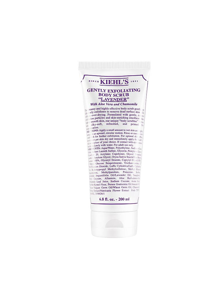 KIEHL'S | Gently Exfoliating Body Scrub - Lavender 200ml | transparent