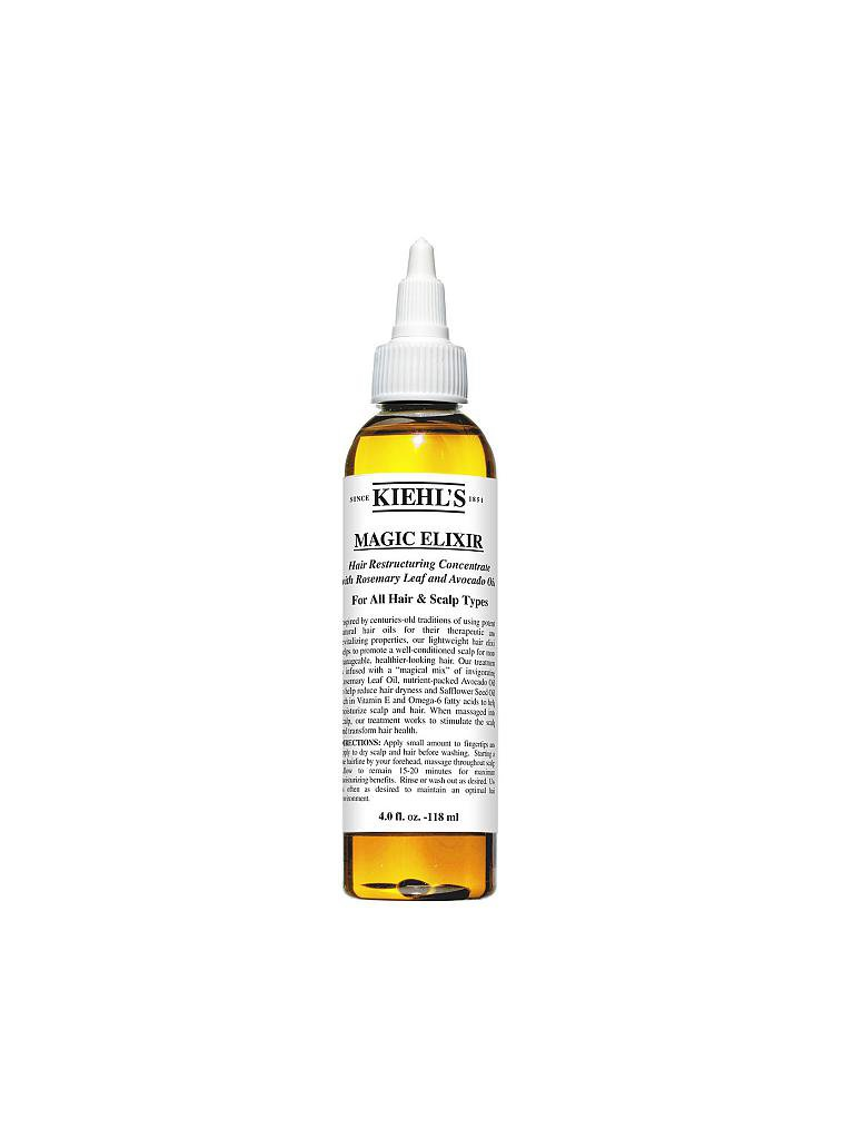 KIEHL'S | Magic Elixir Hair Restructuring Concentrate with Rosemary Leaf and Avocado 118ml | transparent