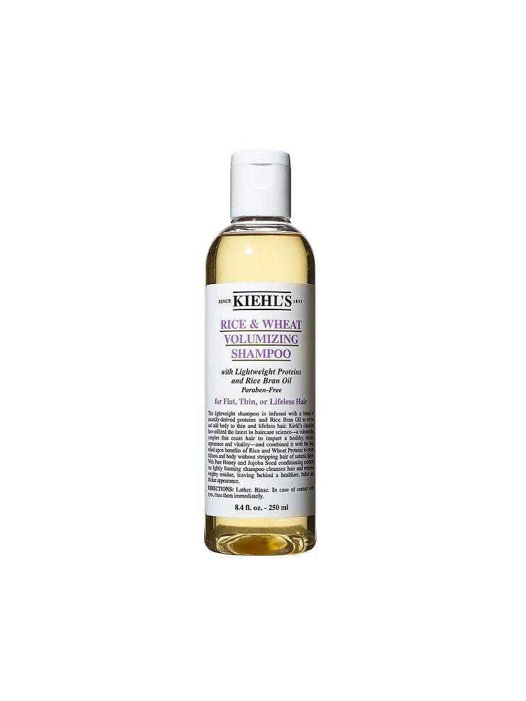 KIEHL'S | Rice and Wheat Volumizing Shampoo 250ml | transparent
