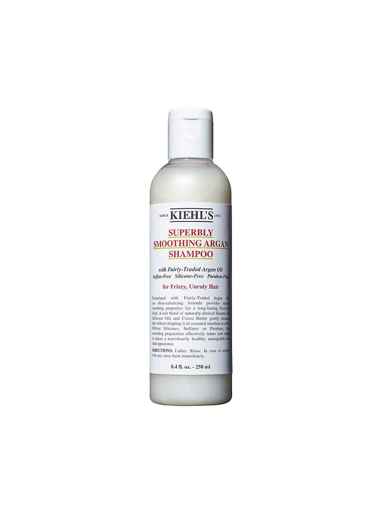 KIEHL'S | Superbly Smoothing Argan Shampoo 250ml | transparent