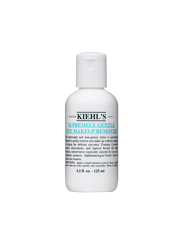 KIEHL'S | Supremely Gentle Eye Make-up Remover 125ml | transparent
