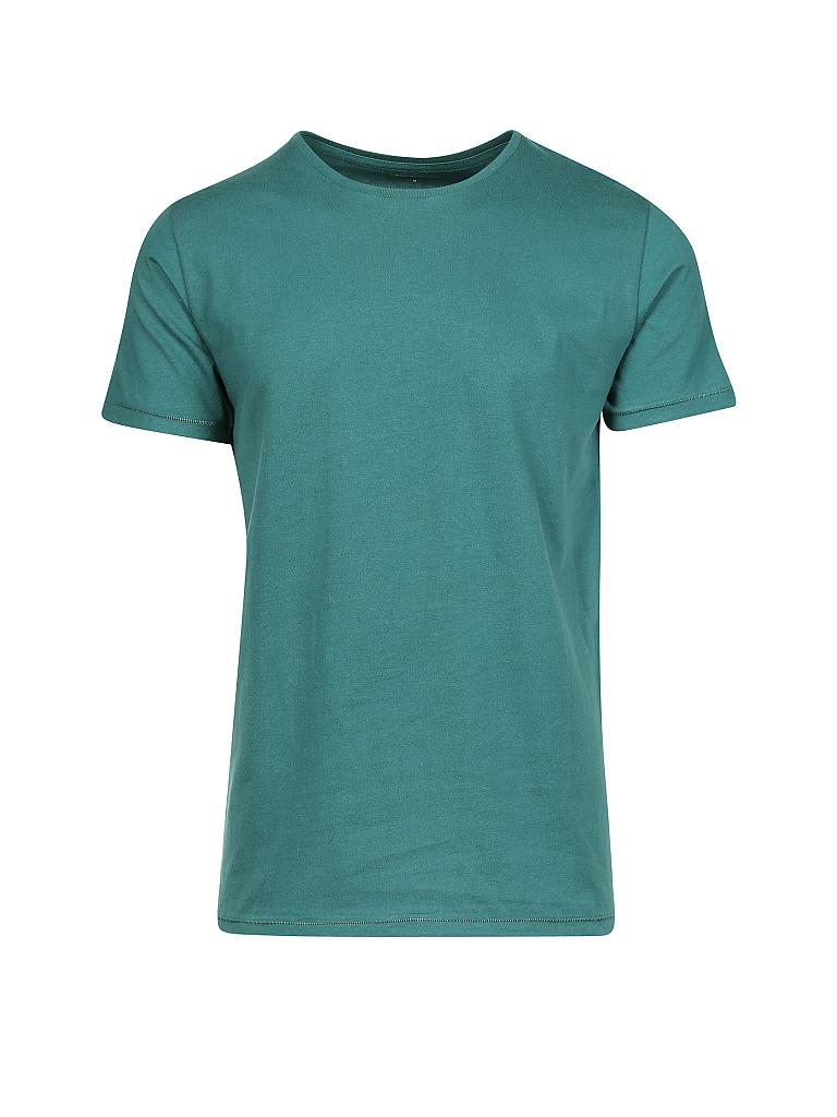 knowledge cotton apparel t shirt t rkis s. Black Bedroom Furniture Sets. Home Design Ideas