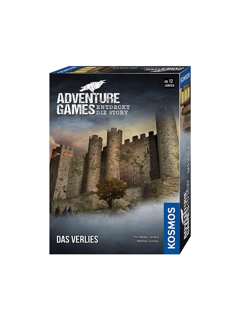 KOSMOS | Adventure Games - Das Verlies | transparent