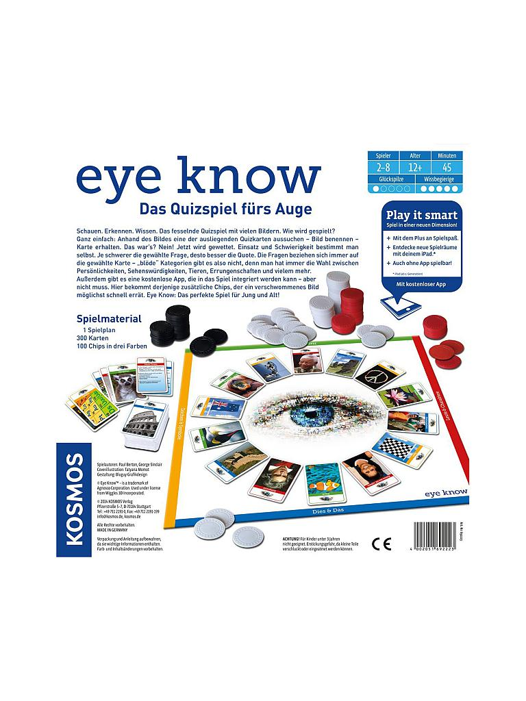 KOSMOS | Eye Know - Play it smart | transparent