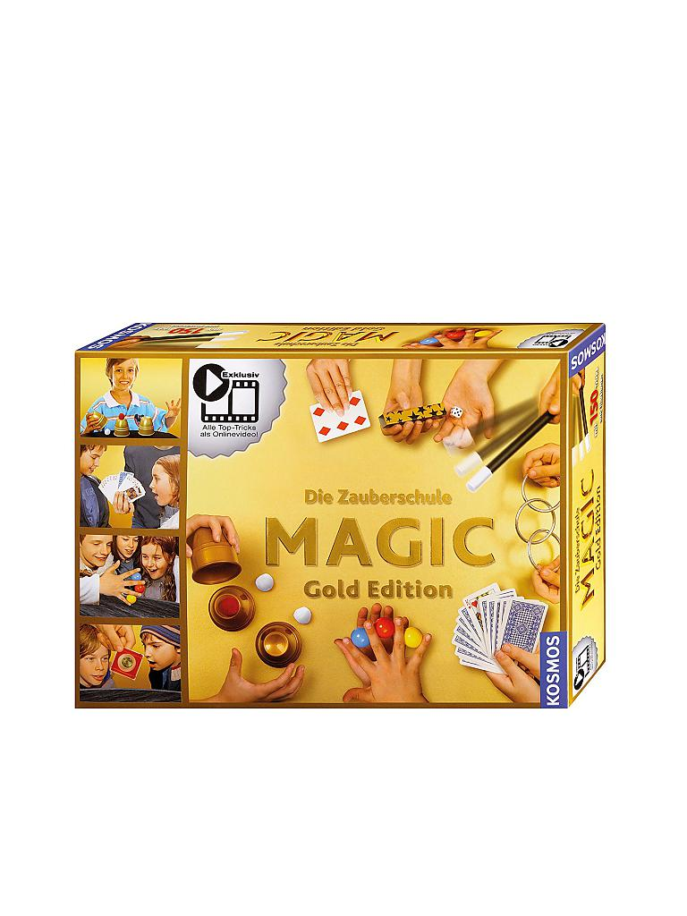 KOSMOS | Zauberschule Magic - Gold Edition  | transparent
